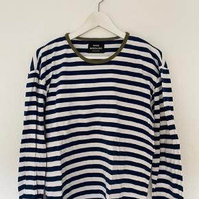 Mads Nørgaard blå/hvid stribet bluse