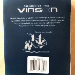 Vinson skiundertøj nyt i original kasse, har ikke været pakket ud 😊 str. 140/146   #30dayssellout