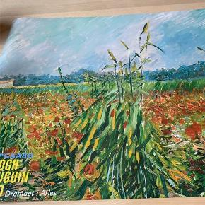 Plakat 60x84 Vincent Van Gogh -majsmark og valmuer