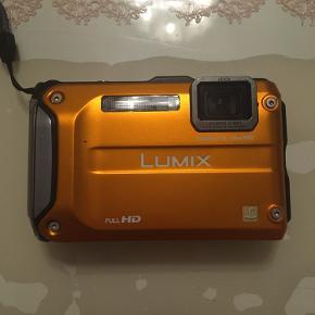 Sælger mit flotte Panasonic Lumix Full HD camera  Power O.I.S/28mm Wide  Virker som det skal