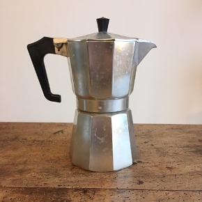 Retro espresso maker. Størrelse: stor, til flere kopper