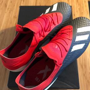 Str er 44 2/3 - Adidas X 18.1 FG fodboldstøvler, aldrig brugt.