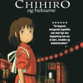 2586 - Chihiro og Heksene (DVD)  Film er i en slim box -  Dansk Tekst - I FOLIE