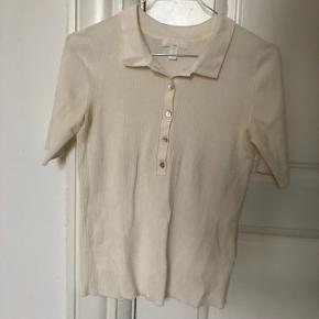 Off-white shirt, H&M, never used, material: viscose