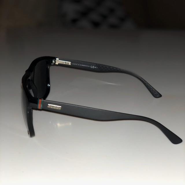 ridse i plastic solbrille