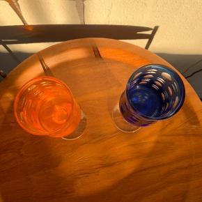 2 skønne bøhmiske glas   Samlet pris 250kr   Til salg på flere sider   Randers københavn mm