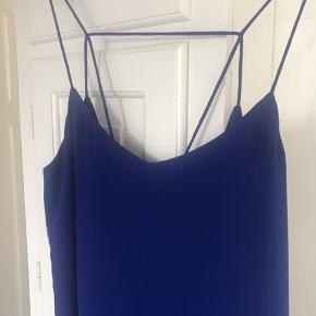 Kjole med tynde stropper og dyb rygudskæring fra Envii. Str M og almindelig i størrelsen, fejler ikke noget!  Kan sendes eller hentes i Kbh 😊