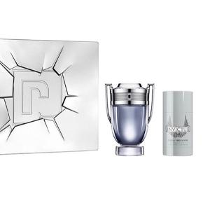 1 stk. Paco Rabanne Invictus Eau De Toilette For Him 50 ml  1 stk. Paco Rabanne Invictus Deadorant Stick For Him 75 ml