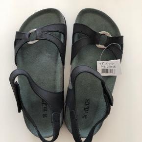 Matas Celeste sandaler. Str 38. Læder (inkl sål).