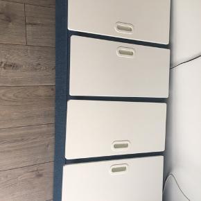 4 skabslåger fra STUVA serien ikea 64 cm høj Hængsler skal købes i ikea