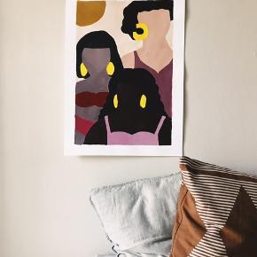 Sælger mine malerier uden ramme, alle måler 30x40cm. Prisen er fast.    Jeg laver også på bestilling. Tjek min Instagram profil ud: LeEuropa_Paintings  Sendes med DAO gennem Tradono.