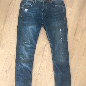 """Varetype: Fede jeans Størrelse: 31"""" Farve: Denim Oprindelig købspris: 700 kr.  Fede jeans fra Selected Homme."""