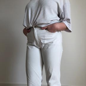 Hvid Nike t-shirt. 100% bomuld. Rigtig lækker oversize tee, uden misfarvninger eller skader.