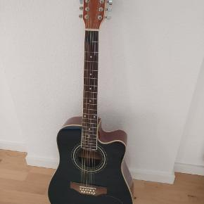 12-string guitar in a very good condition and not played much. Includes a capo, extra set of strings, cable and guitar bag. The e string broke while tuning but can be replaced.   https://www.amazon.de/gp/product/B00301C1GM/ref=ppx_yo_dt_b_asin_title_o05_s00?ie=UTF8&psc=1