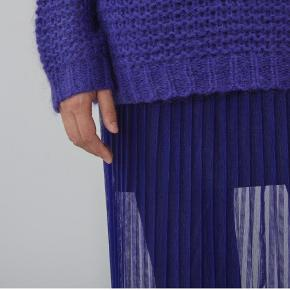 Designersremix Mesh Skirt-Purple str.38 #30dayssellout