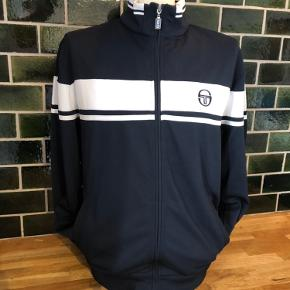 Sergio Tacchini Track Top Navy/White XL fits L Condition 9/10