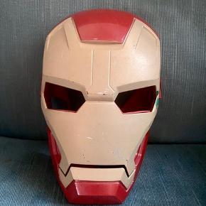 Ironman maske  - fast pris -køb 4 annoncer og den billigste er gratis - kan afhentes på Mimersgade 111. Kbh n - sender gerne hvis du betaler Porto - mødes ikke andre steder - bytter ikke