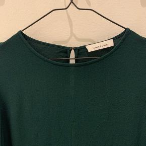 Mørkegrøn samsøe samsøe bluse