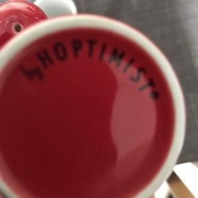 Små søde Hoptimist kopper, pris for begge to.