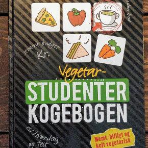 Studenterkogebogen i vegetarudgave - fyldt med simple og billige opskrifter 🤤 Står som helt ny!