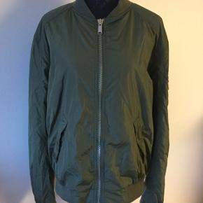 Classic bomber jacket, army green. Size L and XL. New price was 2500, now1000 or make an offer