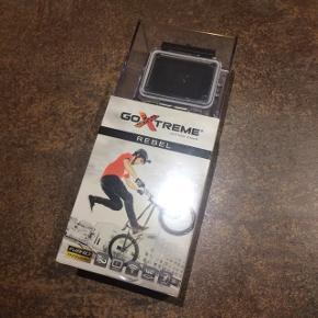 Helt nyt Go-Xtreme action camera. Aldrig pakket ud (julegave i december).  Se også gerne mine andre annoncer. Giver mængderabat :-)