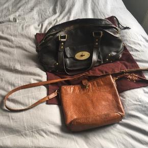 To stk mulberry tasker. 1 skuldertaske og en håndtaske. Super fine brugte tasker med patina.