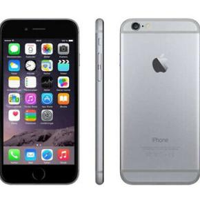 iPhone 6 16 GB, der virker som den skal og har helt ny skærm