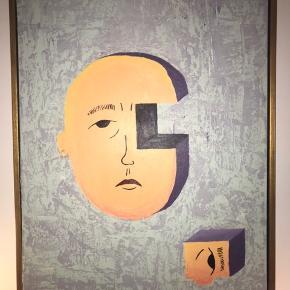 Hej, jeg sælger dette maleri jeg selv har malet. Maleriet er 60x80 og rammen følger selvfølgelig med. Rammen kan males i andre farver efter ønske :))