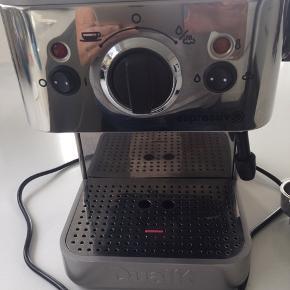 Fin Dualit espresso maskine - meget lidt brugt