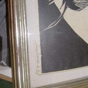 Træsnit af Reinhold motiv er fluen 62x50