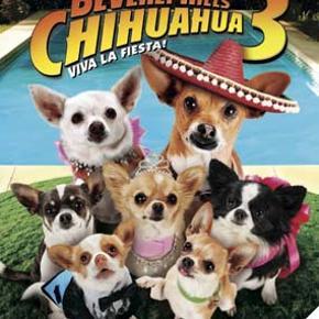 0282 - Beverly Hills Chihuahua 3 (DVD) Dansk Tale - I FOLIE