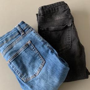 Jeans fra Gestuz.   Størrelsen: W25, L32. (str. XS)   Næsten som nye, der er en lille syning på den ene baglomme der er gået op.   Ny pris er 900 kr. sælges til 300 kr.   Har også et par magen til i blå - begge par sælges for 500 kr.