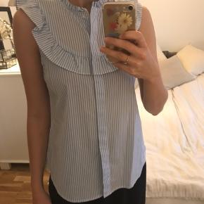 Flot blå skjorte
