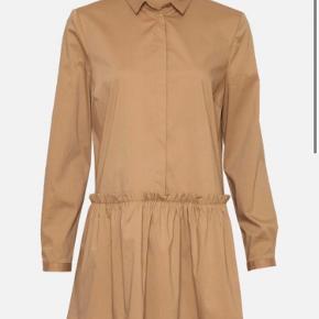 Fed brun skjorte/kjole fra Moss Copenhagen Str. M Brugt 1-2 gange Np 400 Byd