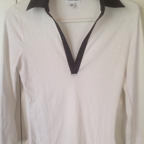 Lovely ecru cotton top with a satin black lining.    #30dayssellout