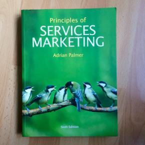 Principles of services marketing  Sælger mine studiebøger til den internationale serviceøkonom uddannelse. Alle bøger er i perfekt stand Se liste over bøger nedenfor - Se mine andre annoncer for billeder