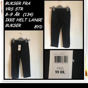 Bukser fra vrs str 8-9 år ikke helt lange bukser nyt byd