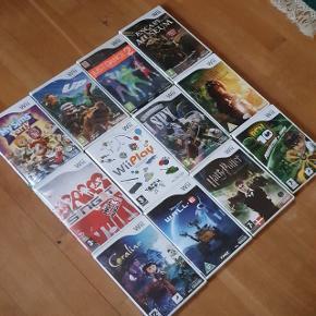 Masse spil til Nintendo WII Sælges   Priser fra 50 pr spil.  Skriv på 30353139