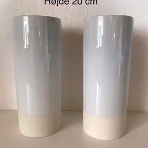 Helt nye vaser fra Ikea 20 cm høje Nypris 59 kr pr stk  Sælges samlet for 40 kr