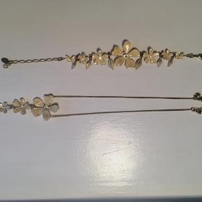 Halskæde + armbånd fra Pilgrim ✨✨