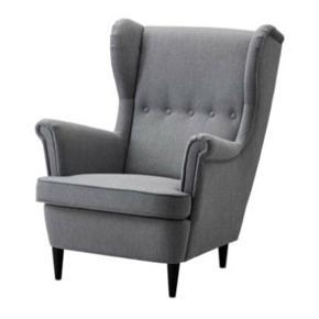 Fin lænestol fra ikea sælges. Skriv gerne for flere billeder :-)