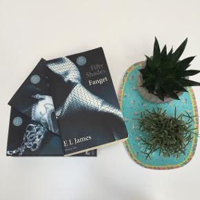 """""""Fifty Shades of Grey""""-triologien. Hele samlingen: 200,- En bog: 80,-"""