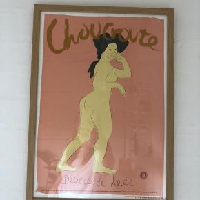 Peter Kjær Andersen plakat  Ramme medfølger  Tags: Henri Matisse, Louisiana