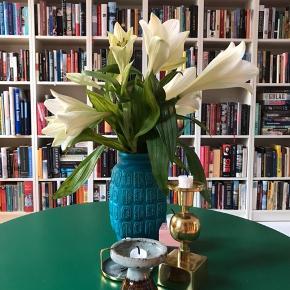 Smuk, blå Westgermany vase