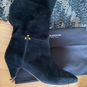 Smukkeste sorte ruskindsstøvler