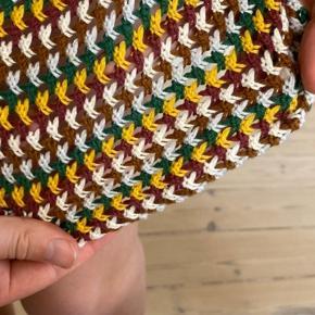 Grøn hækle kjole fra zara, brug underkjole(-: eller shorts inden under