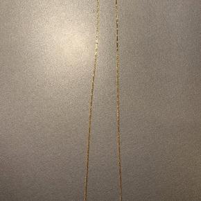 Grandma halskæde, som kan indstilles i længden.