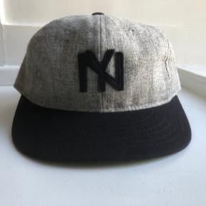 Ebbets Field Flannels NY cap med kort skygge.  Rigtig fin stand.