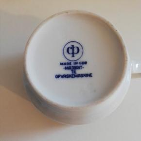 MAJBRIT / CP / made in GDR 6 kopper med underkopper